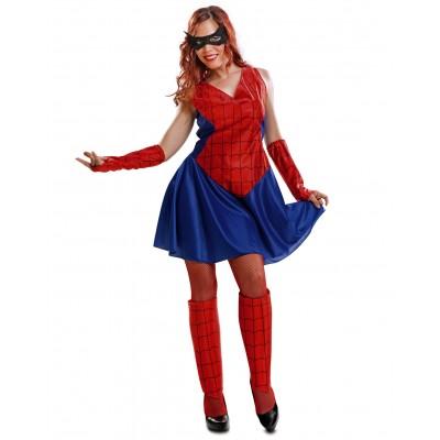 disfraz heroe insecto mujerspidermenml - DISFRAZ DE SPIDERWOMAN MUJER