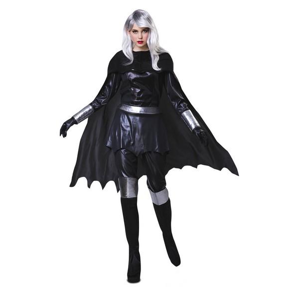 disfraz heroina negra mujer - DISFRAZ HEROINA NEGRA BATWOMAN