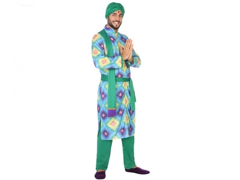 disfraz hindú hombre - DISFRAZ DE HINDU HOMBRE