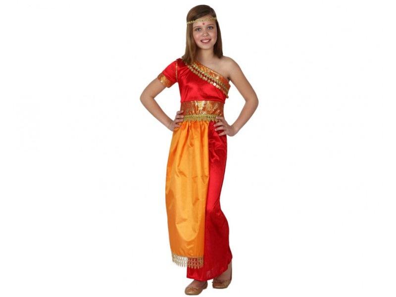 disfraz hindu niña - DISFRAZ DE HINDU NIÑA