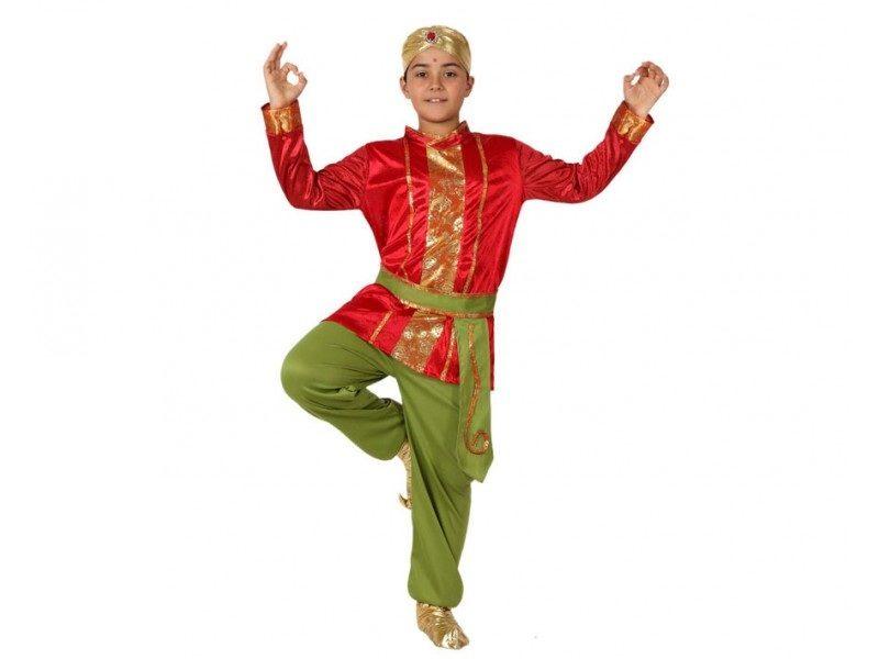 disfraz hindu niño 800x600 - DISFRAZ DE HINDÚ NIÑO