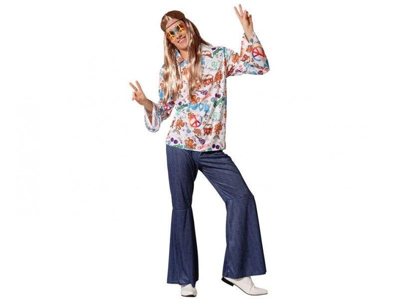 disfraz hippie hombre 2 800x600 - DISFRACES HOMBRE