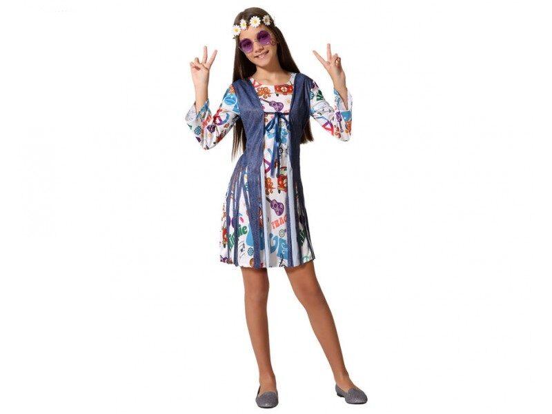disfraz hippie niña 2 800x600 - DISFRACES NIÑA