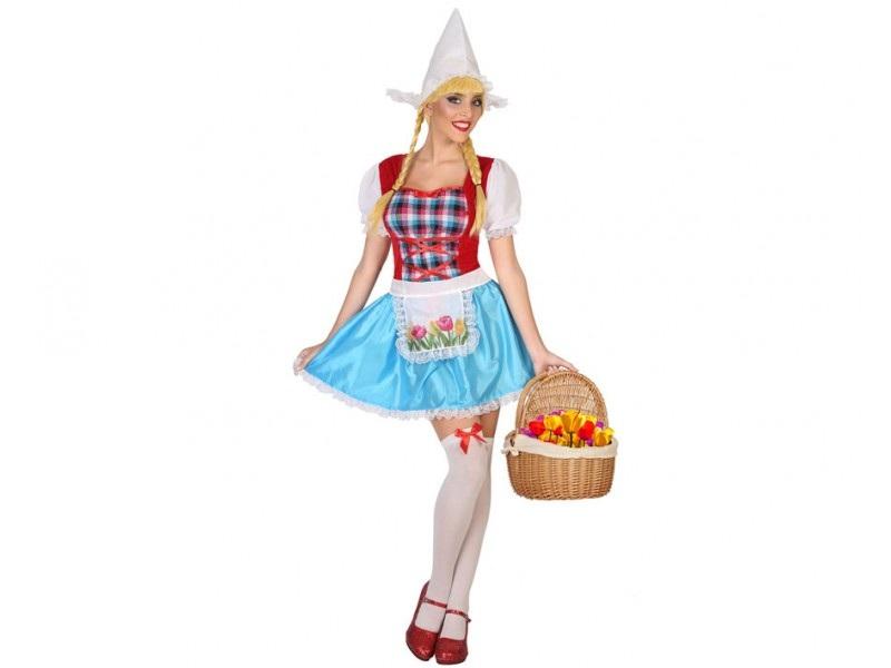 disfraz holandesa mujer - DISFRAZ DE HOLANDESA MUJER