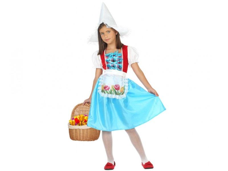 disfraz holandesa niña - DISFRAZ DE HOLANDESA NIÑA