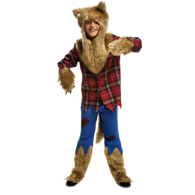 disfraz hombre lobo niño 800x800 - DISFRAZ DE HOMBRE LOBO infantil