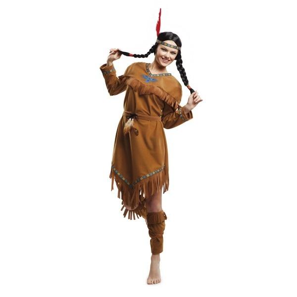 disfraz india guerrera mujer 203392mom - DISFRAZ DE INDIA GUERRERA MUJER