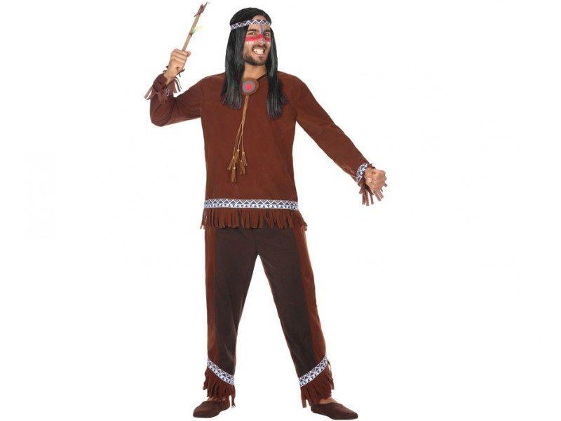 disfraz indio hombre 800x600 - DISFRAZ DE INDIO HOMBRE
