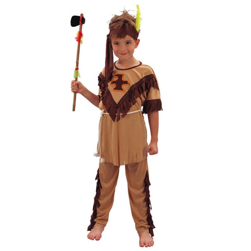 disfraz indio infantil 2 - DISFRAZ DE INDIO NIÑO
