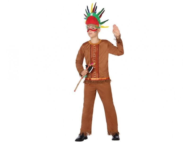 disfraz indio niño - DISFRAZ DE INDIO NIÑO