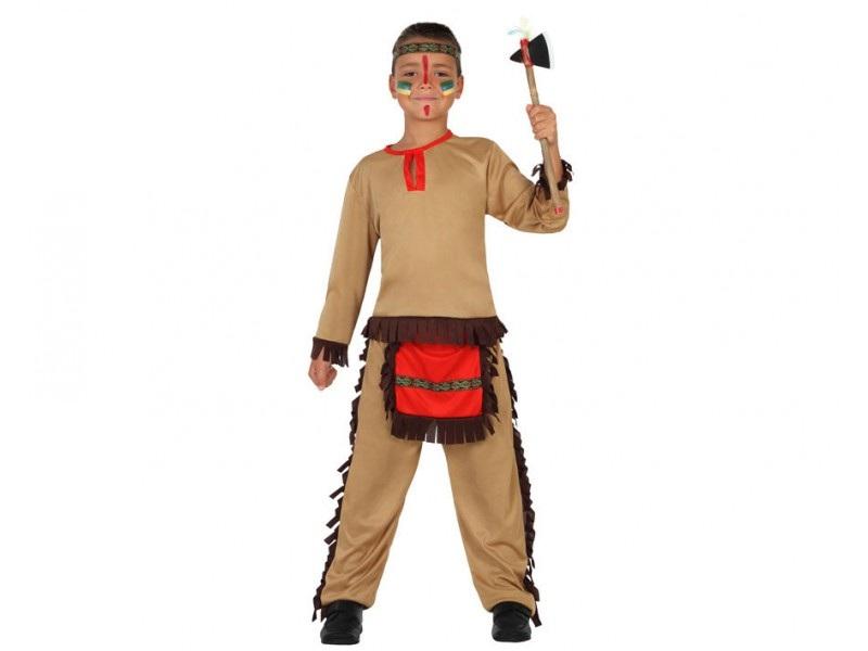 disfraz indio rojo niño - DISFRAZ DE INDIO ROJO NIÑO