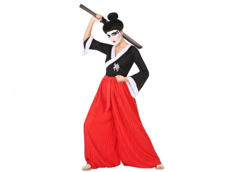 disfraz japones hombre 1 - DISFRAZ DE JAPONES SAMURAI HOMBRE