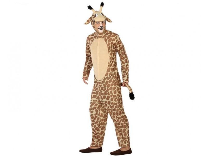 disfraz jirafa adulto 1 - DISFRAZ DE JIRAFA ADULTO