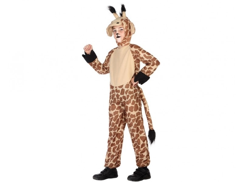 disfraz jirafa infantil 1 - DISFRAZ DE JIRAFA NIÑO
