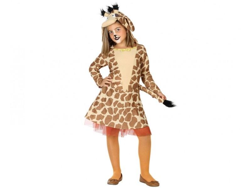 disfraz jirafa niña - DISFRAZ DE JIRAFA NIÑA