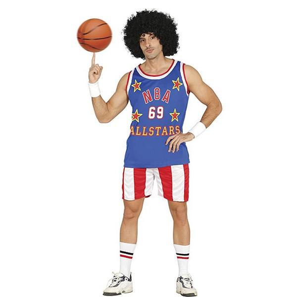 disfraz jugador basquet hombre - DISFRAZ DE JUGADOR N.B.A HOMBRE