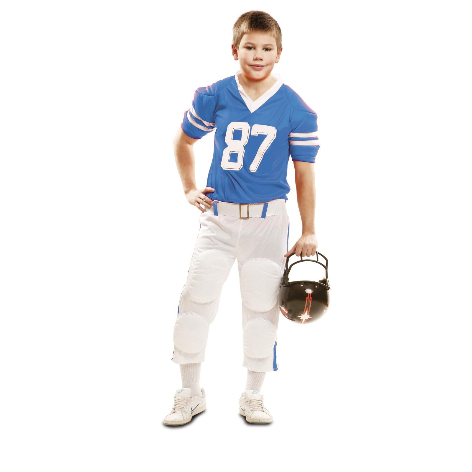 disfraz jugador rugby azul niño 202108mom - DISFRAZ DE JUGADOR RUGBY AZUL NIÑO