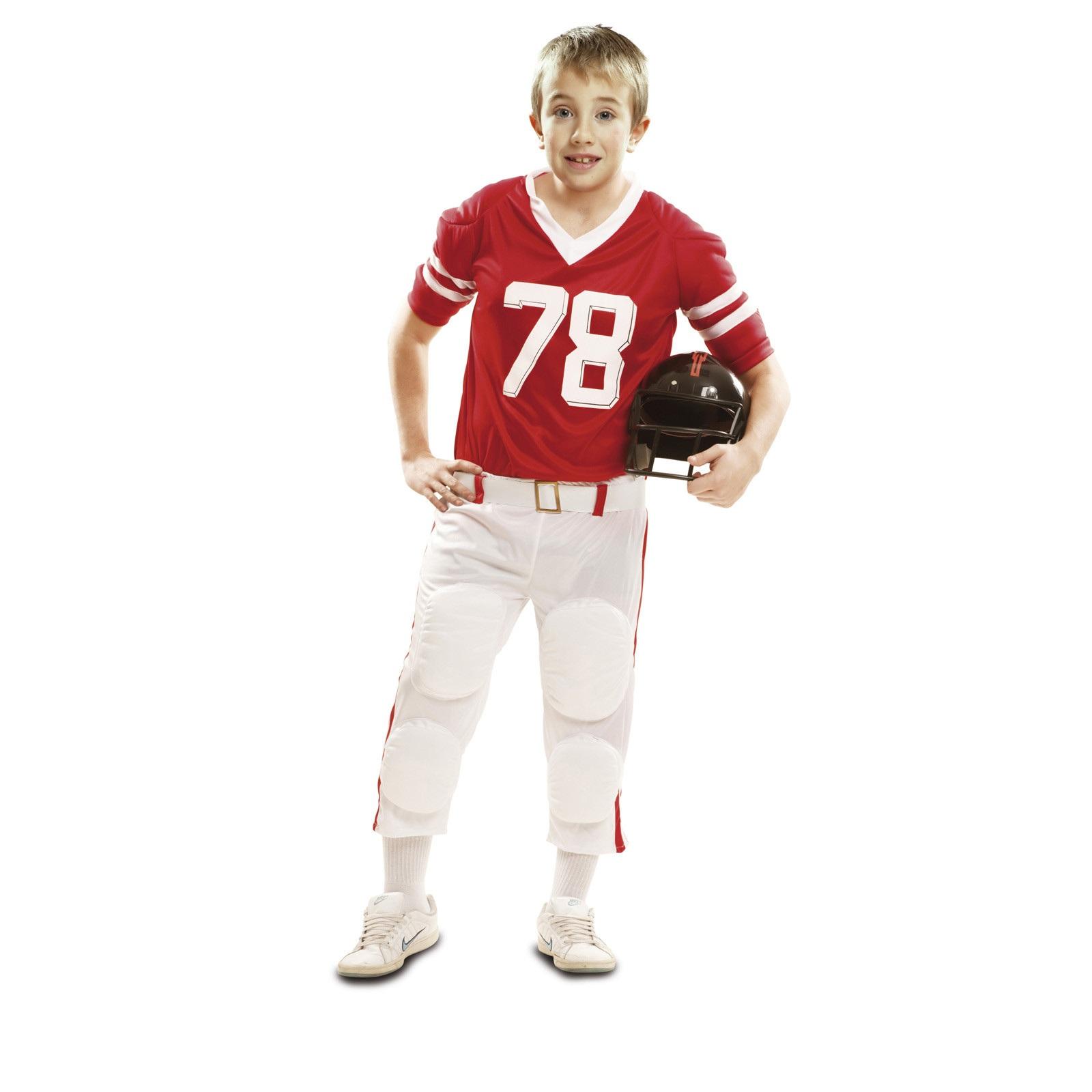 disfraz jugador rugby rojo niño 202111mom - DISFRAZ DE JUGADOR DE RUGBY ROJO NIÑO