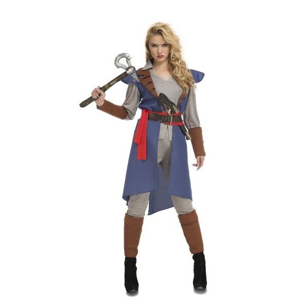 disfraz justiciera azul mujer 203961 - DISFRAZ AZUL JUSTICIERA MUJER
