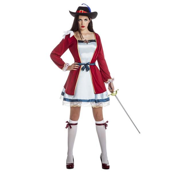 disfraz lady mosquetera mujer - DISFRAZ DE LADY MOSQUETERA MUJER