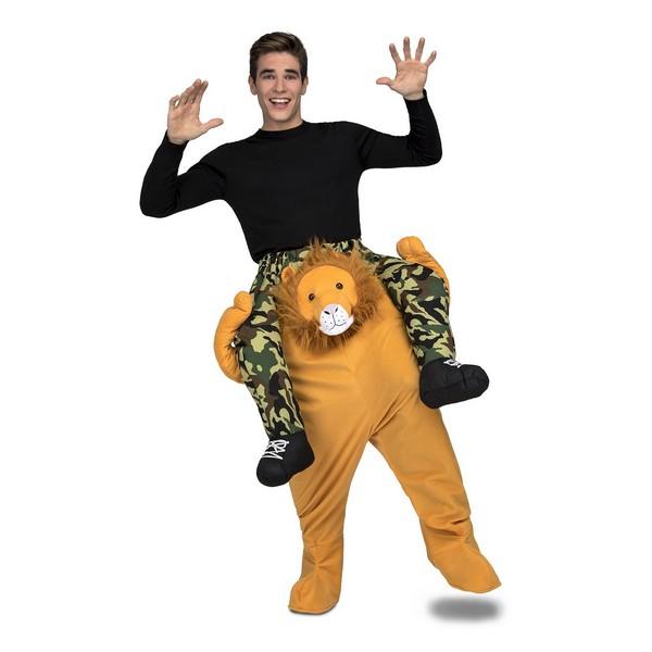 disfraz león a hombros adulto - DISFRAZ DE LEON A HOMBROS ADULTO