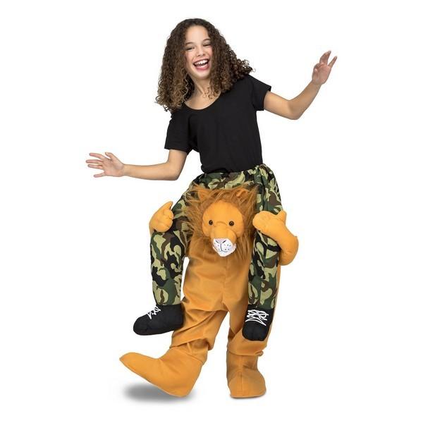 disfraz león a hombros infantil - DISFRAZ DE LEON A HOMBROS UNISEX