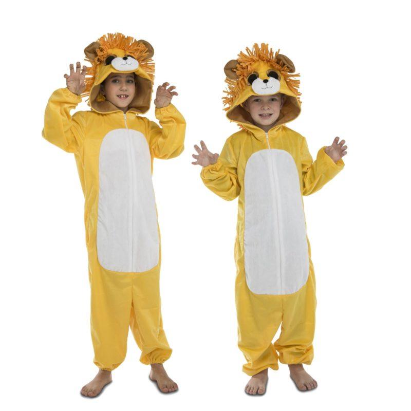 disfraz león pijama big eyes infantil 800x800 - DISFRAZ DE LEON PIJAMA BIG EYES INFANTIL