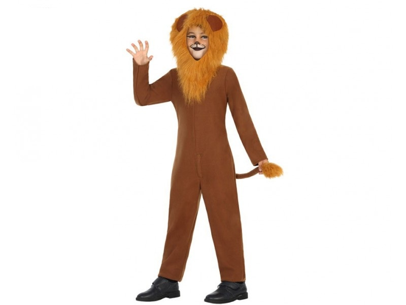 disfraz leon pelo infantil - DISFRAZ DE LEON MELENAS  INFANTIL