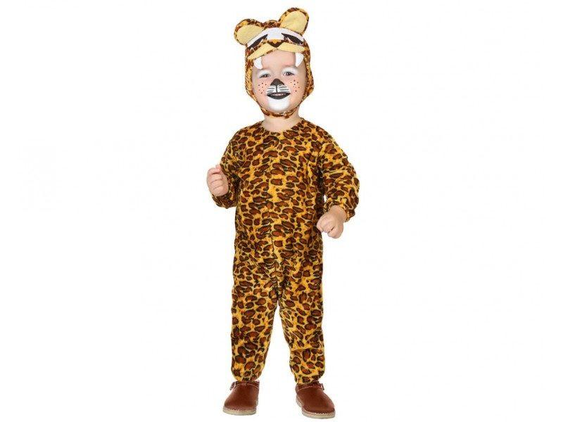 disfraz leopardo largo bebé 800x600 - DISFRAZ DE LEOPARDO BEBÉ