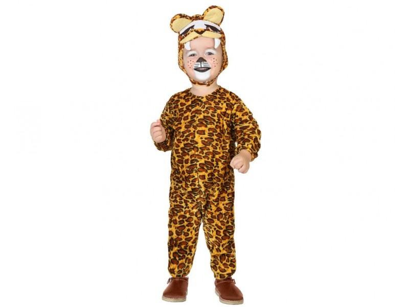 disfraz leopardo largo bebé - DISFRAZ DE LEOPARDO BEBE
