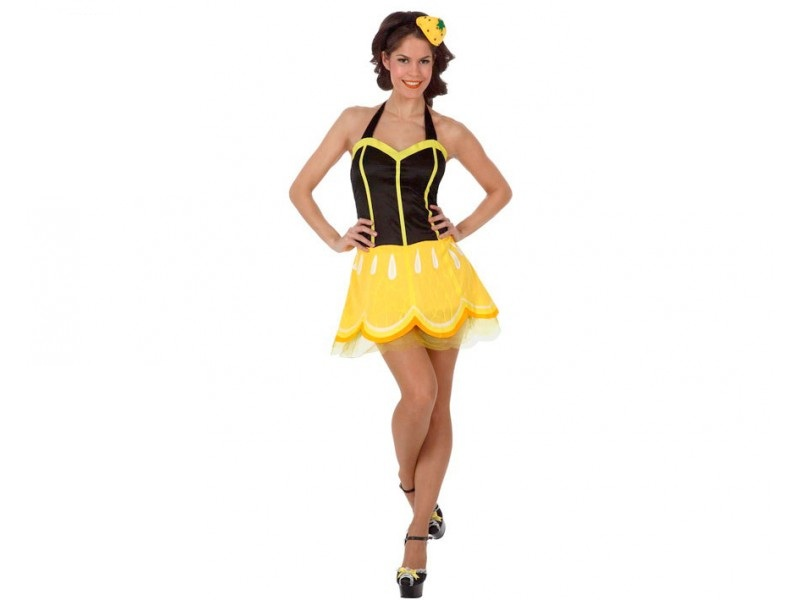 disfraz limon mujer - DISFRAZ DE LIMON MUJER