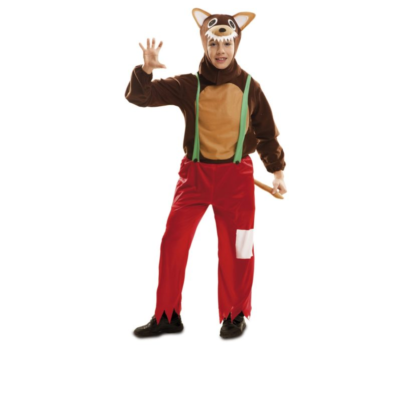 disfraz lobo infantil 1 800x800 - DISFRAZ DE LOBO LUPUS INFANTIL