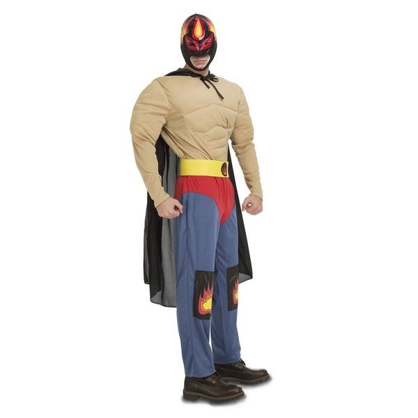 disfraz luchador ramírez hombre 2204316mom - DISFRAZ DE LUCHADOR RAMÍREZ HOMBRE