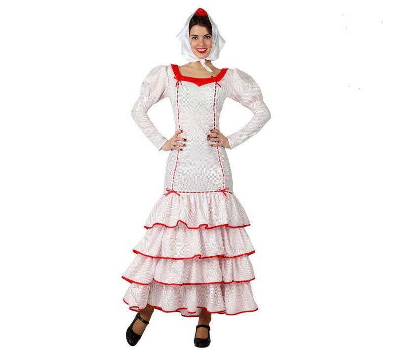 disfraz madrileña mujer - DISFRAZ DE MADRILEÑA MUJER