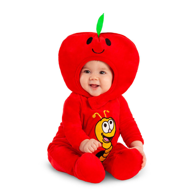 disfraz manzana bebé 800x800 - DISFRAZ DE MANZANA BEBÉ