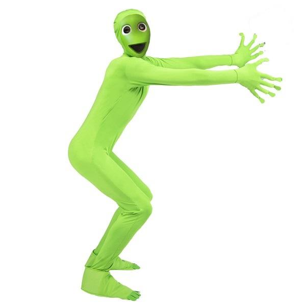 """disfraz marciano verde - DISFRAZ DE  """"EL CHOMBO, DAME TU COSITA"""" ADULTO"""