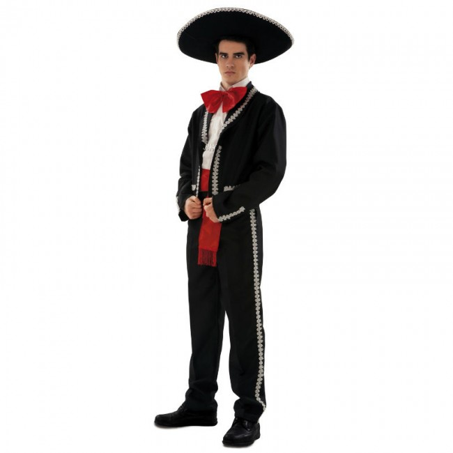 disfraz mariachi hombre 2 - DISFRAZ DE MARIACHI LUJO HOMBRE
