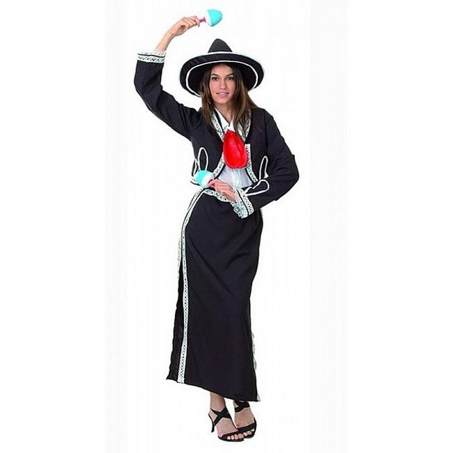 disfraz mariachi mujer 36668 - DISFRAZ DE MEJICANA MARIACHI MUJER