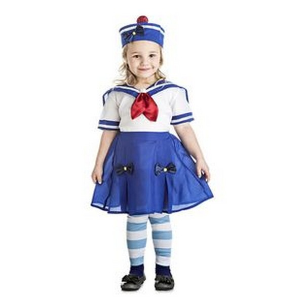 disfraz marinera lazo niña 1 - DISFRAZ DE MARINERITA LAZO BEBÉ NIÑA