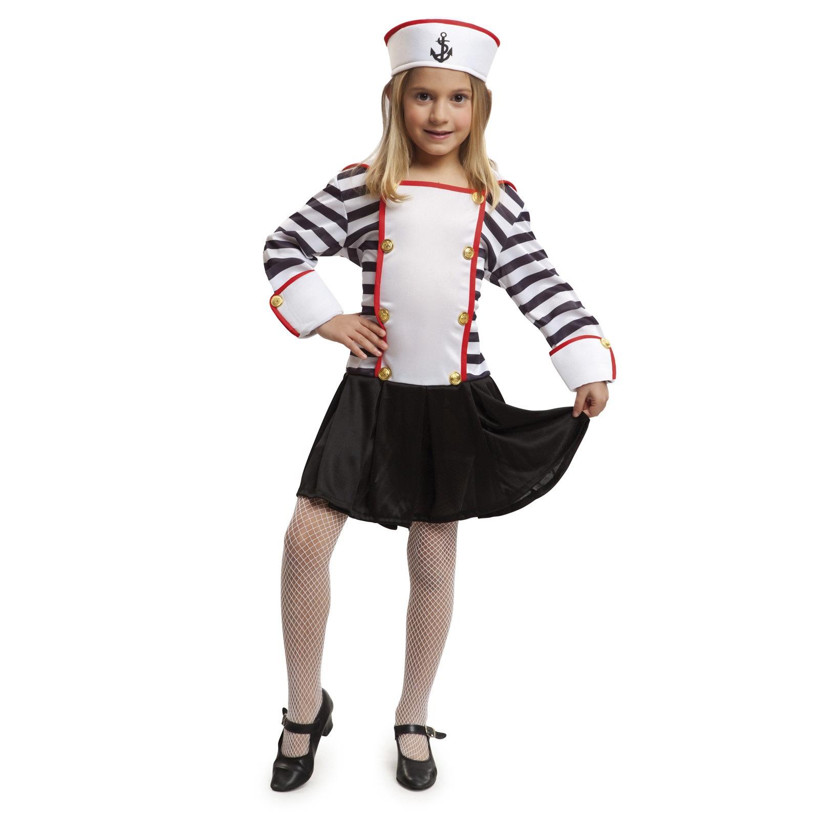 disfraz marinera niña 203506mom - DISFRAZ DE MARINERA RAYAS NIÑA
