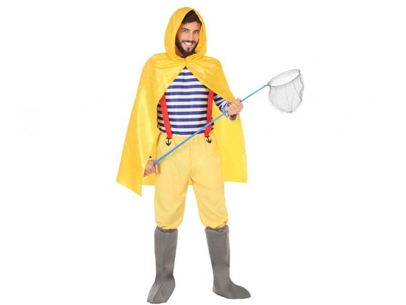disfraz marinero pescador hombre - DISFRAZ DE MARINERO PESCADOR HOMBRE