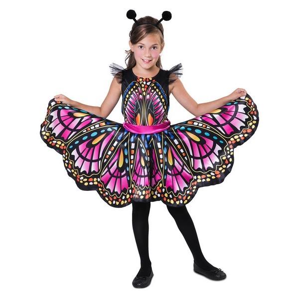 disfraz mariposa fucsia niña - DISFRAZ DE MARIPOSA FUCSIA NIÑA