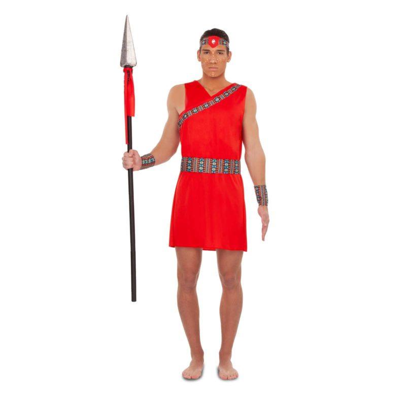 disfraz masai hombre 800x800 - DISFRAZ DE GUERRERO MASAI HOMBRE