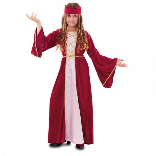 disfraz medieval para nina - DISFRAZ DE REINA MEDIEVAL NIÑA