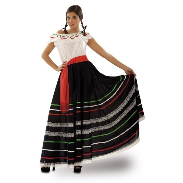 disfraz mejicana mujer - DISFRAZ DE MEJICANA MUJER