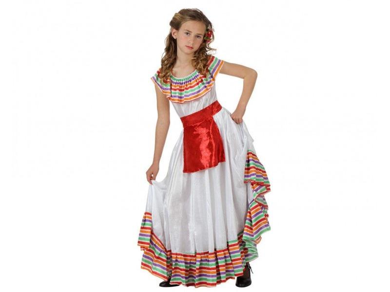 disfraz mejicana niña - DISFRAZ DE MEJICANA NIÑA