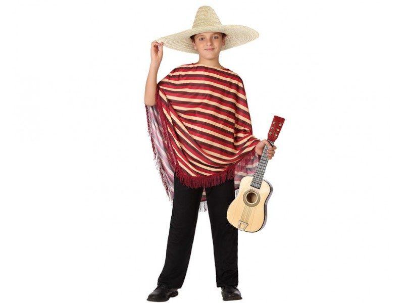 disfraz mejicano niño 800x600 - DISFRAZ DE MEJICANO NIÑO