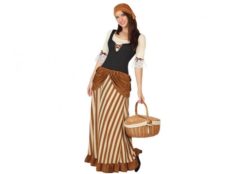 disfraz mesonera medieval mujer - DISFRAZ DE MESONERA MEDIEVAL MUJER
