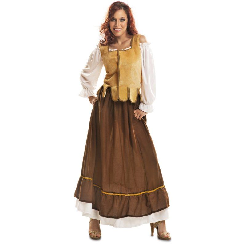 disfraz mesonera mujer 800x800 - DISFRAZ DE MESONERA MEDIEVAL MUJER