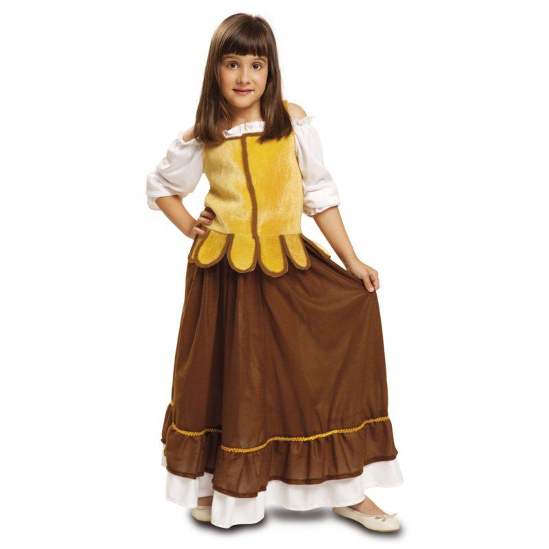 disfraz mesonera niña 800x800 - DISFRAZ DE MESONERA MEDIEVAL NIÑA
